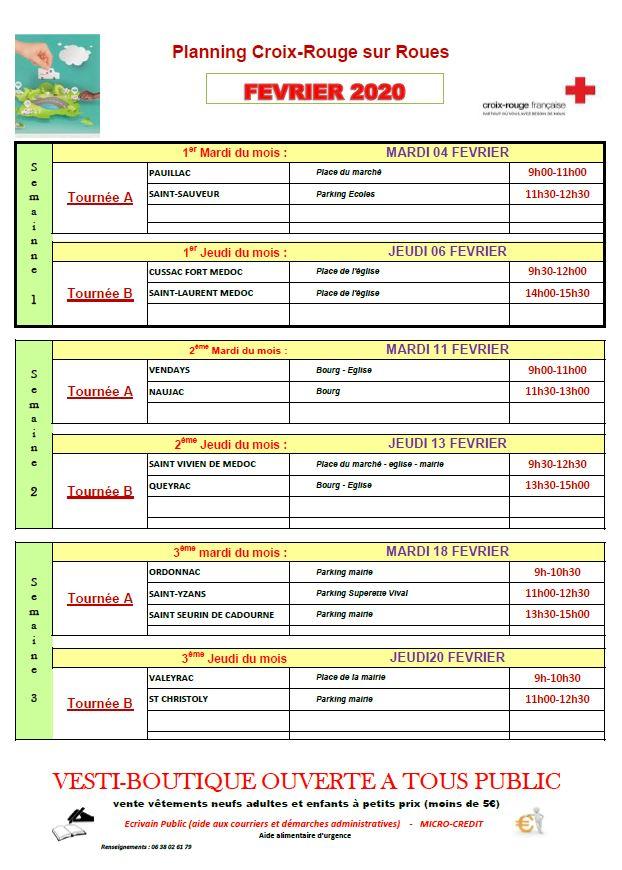 planning-croix-rouge-sur-roue-février-2020