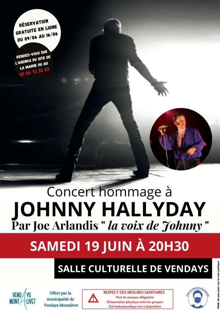 Culture - Affiche Hallyday